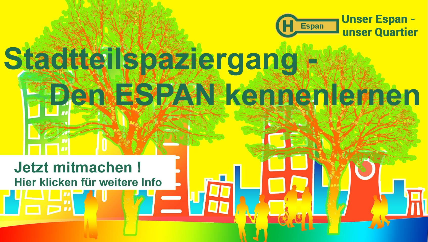 Stadtteilspaziergang - den ESPAN kennenlernen